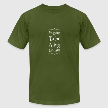 Cousin - I'm going to be big cousin - Men's Fine Jersey T-Shirt