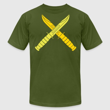 KA-BAR Cross Beta - Men's Fine Jersey T-Shirt