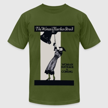 The Woman's Hour has Struck - Men's T-Shirt by American Apparel