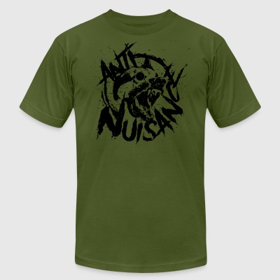 Nuisance Committee Militia - Men's T-Shirt by American Apparel