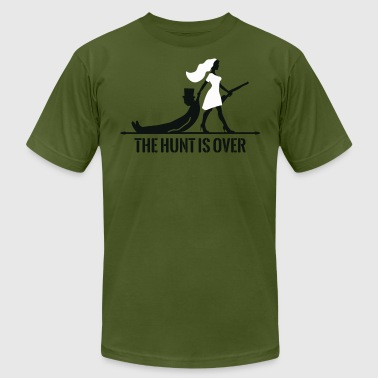 The hunt is over - Men's T-Shirt by American Apparel