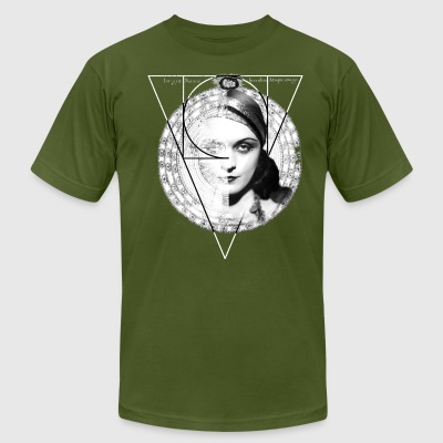 Homuncula: Pola Negri dark - Men's T-Shirt by American Apparel