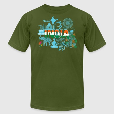 Welcome to India Shirt - Men's Fine Jersey T-Shirt