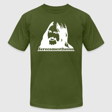 George Harrison Here Comes The Sun - Men's T-Shirt by American Apparel