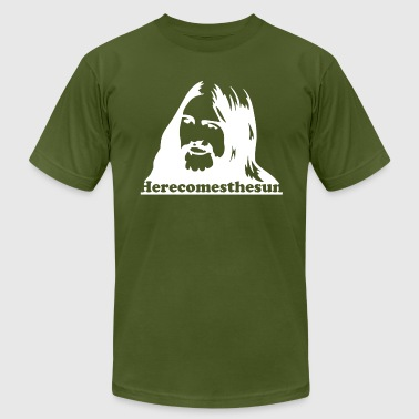 George Harrison Here Comes The Sun - Men's Fine Jersey T-Shirt