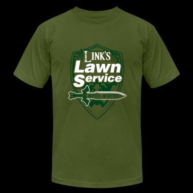Links Lawn Service - Men's Fine Jersey T-Shirt