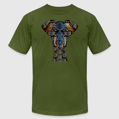 Elephant - Men's T-Shirt by American Apparel