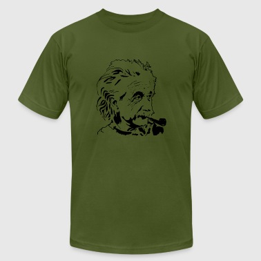 Albert Einstein physicist - Men's Fine Jersey T-Shirt