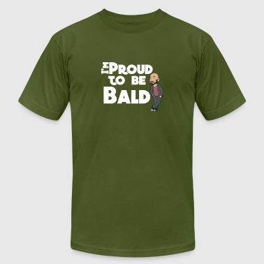 I'm Proud To Be Bald White - Men's Fine Jersey T-Shirt