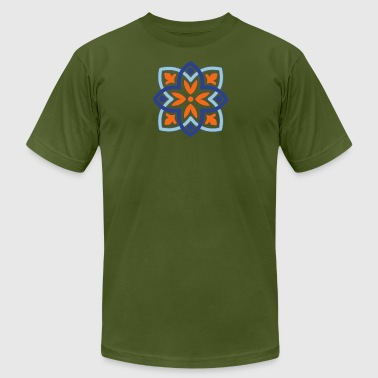 Pattern Portugal - Men's T-Shirt by American Apparel