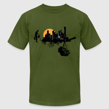Green Growth - Men's Fine Jersey T-Shirt