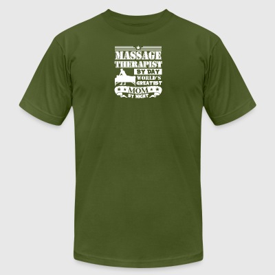 Massage Therapist Mom Tee Shirt - Men's T-Shirt by American Apparel