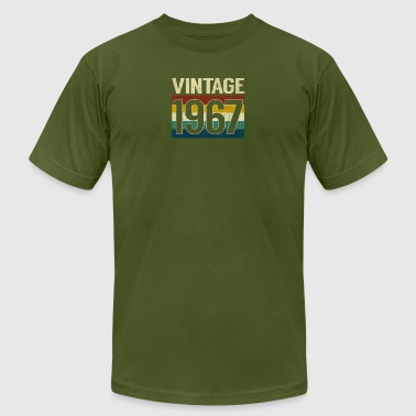 Retro Vintage 1967 T-Shirt Classic 50th Birthday - Men's T-Shirt by American Apparel