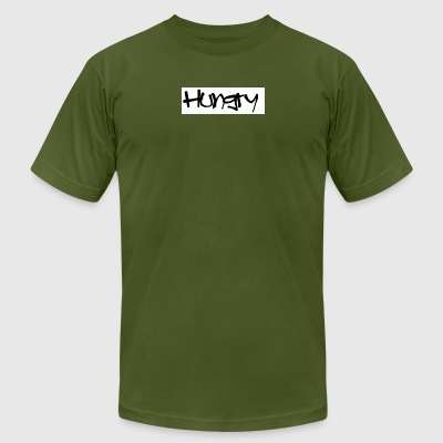 Hungry - Men's T-Shirt by American Apparel
