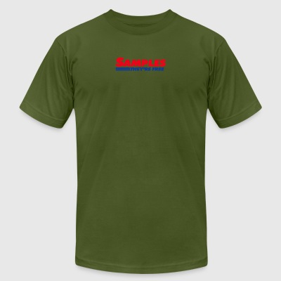 Costco Samples - The're Free - Men's T-Shirt by American Apparel