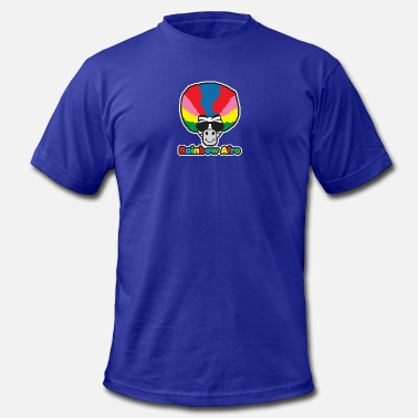 Afro Cartoons Rainbow Afro - Men's  Jersey T-Shirt