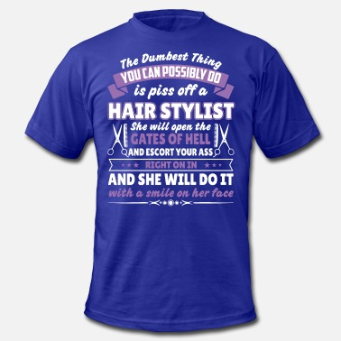Hair Stylists Tools Hair stylist - Men's  Jersey T-Shirt