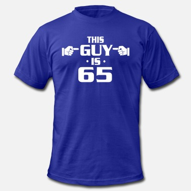 65th Age Birthday Shirts