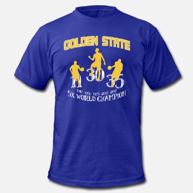 The Golden State GOLDEN STATE CHAMPIONS 2017 - Men's  Jersey T-Shirt