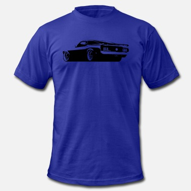 Rear Mustang Rear - Men's Fine Jersey T-Shirt