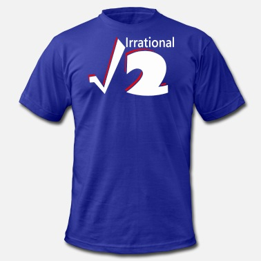 Irrational Numbers Irrational Numbers - Men's  Jersey T-Shirt