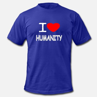I Love Humanity I LOVE HUMANITY - Men's  Jersey T-Shirt