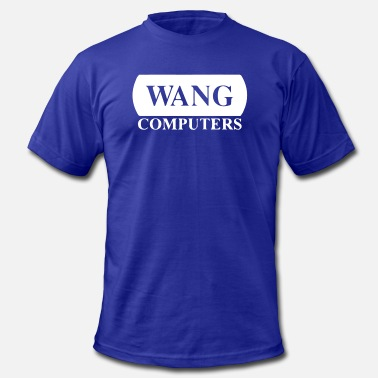 Computers Wang Computers - Men's Jersey T-Shirt