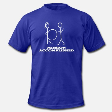 Accomplishment Mission accomplished - Men's  Jersey T-Shirt