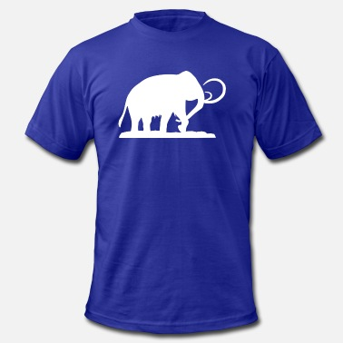 Prehistoric Cool Prehistoric Woolly Mammoth - Men's  Jersey T-Shirt