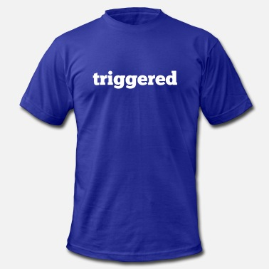 Youtuber Official Triggered: Official logo of the Youtube Channel - Men's  Jersey T-Shirt