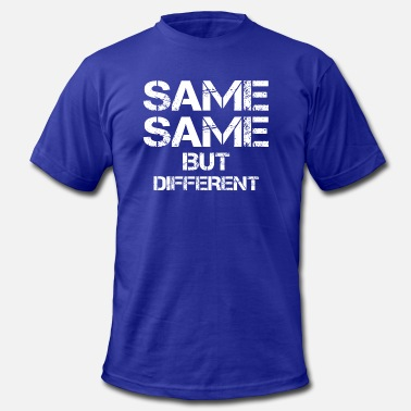 Thailand Quotes same same but different thailand quote holiday - Men's Fine Jersey T-Shirt