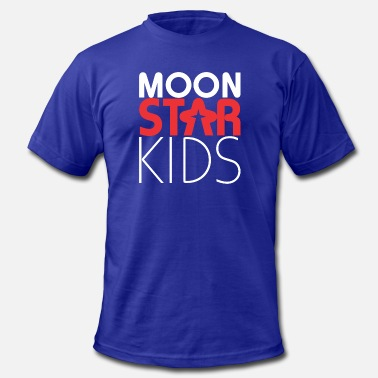 Porn Kid Moon Star Kids - Men's  Jersey T-Shirt
