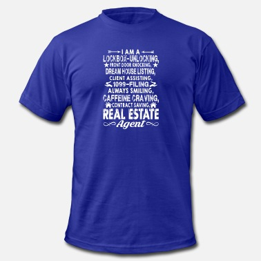 Real Estate Real Estate Agent Shirts - Men's  Jersey T-Shirt