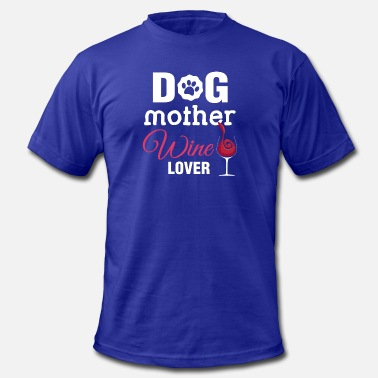 Mothers Dogs Dog Mother - Men's Fine Jersey T-Shirt