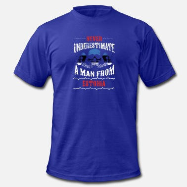 Funny Estonia never underestimate man ESTONIA - Men's  Jersey T-Shirt