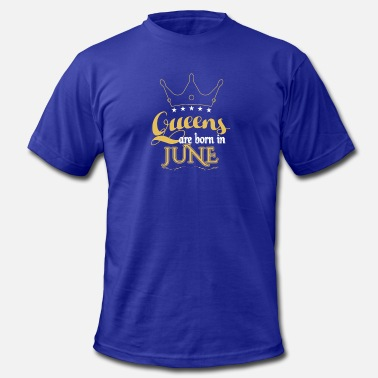 Queens 6 Queens are born in 6 - Men's  Jersey T-Shirt