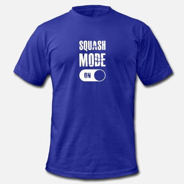 Squash Sport Squash Mode On gift for Squash Players - Men's  Jersey T-Shirt