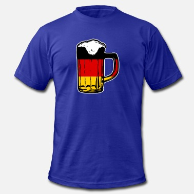 Oktoberfest Beer Festival german beer, oktoberfest, germany flag - Men's  Jersey T-Shirt