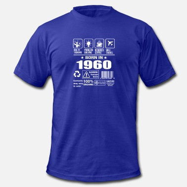 1960s Born Born In 1960 - Men's  Jersey T-Shirt