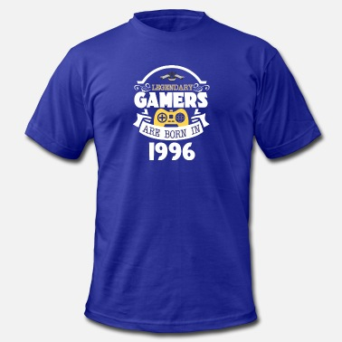 1996 Legendary Gamers Are Born In 1996 - Men's  Jersey T-Shirt