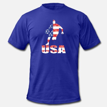 Full House usa basketball logo - Men's Jersey T-Shirt