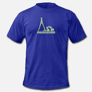 Alpha Omega Alpha and omega - Men's  Jersey T-Shirt