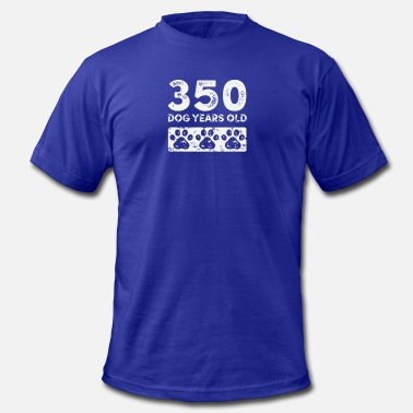 Dog Years Old 350 Dog Years Old Funny - Men's  Jersey T-Shirt