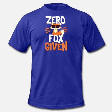 Zero Fox Given Funny Quote - Men's Jersey T-Shirt