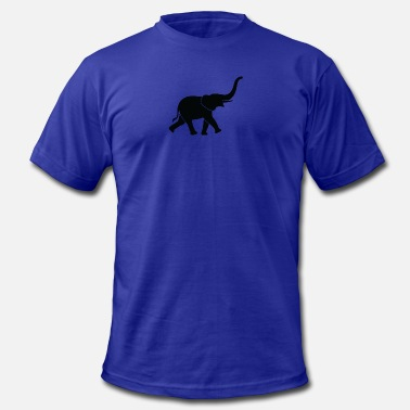 Trunk Tusk A Big Elephant With Trunk - Men's  Jersey T-Shirt