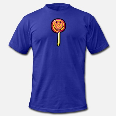 Smylie SmileyWorld Lollipop - Men's Fine Jersey T-Shirt