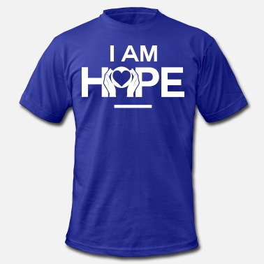 Affirmations I AM HOPE Affirmation - Men's Fine Jersey T-Shirt