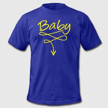 Funny Baby Baby bely Funny Baby - Men's Fine Jersey T-Shirt