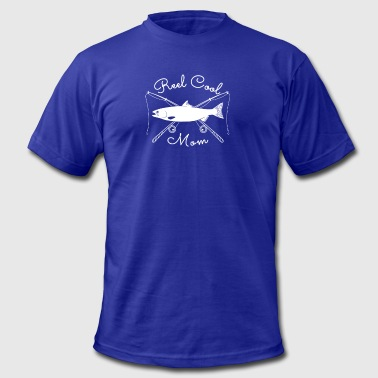 Real Reel Cool Mom Fishing Shirts and Accessories - Men's Fine Jersey T-Shirt
