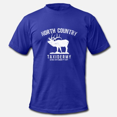 Taxidermy North Country Taxidermy - Men's  Jersey T-Shirt